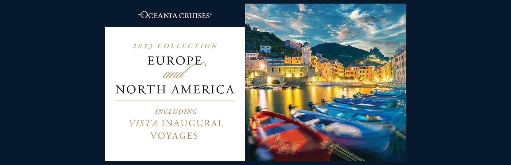 New 2023 North America and Europe Voyages with Oceania 0