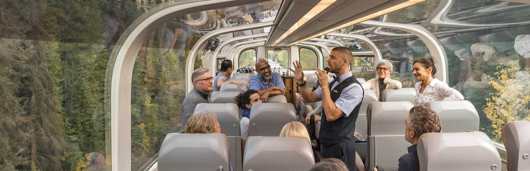 See the peaks of the majestic Mountains with Rocky Mountaineer 2