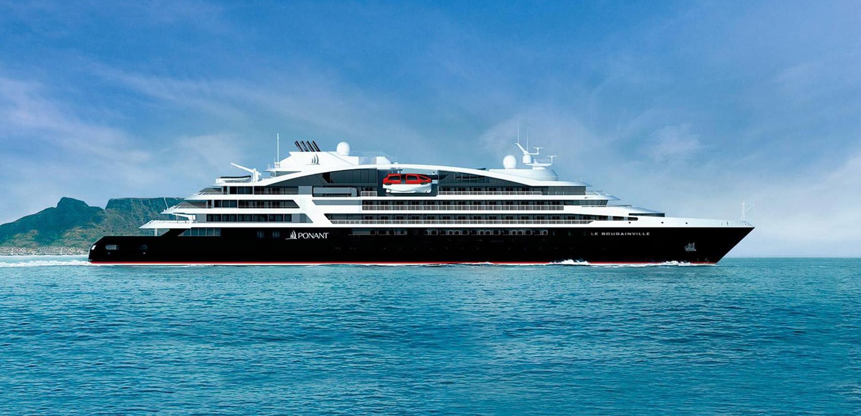 Le Bougainville's Maiden Voyage Through the Mediterranean Islands 1