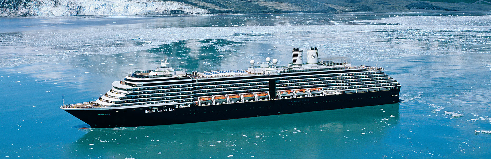 Explore Alaska with Holland America Cruise Line