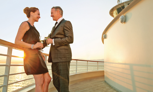 Free Shipboard Credit with Seabourn