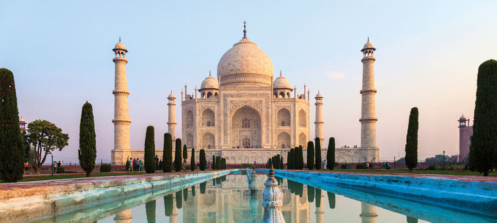 Taj Mahal and Treasures of India