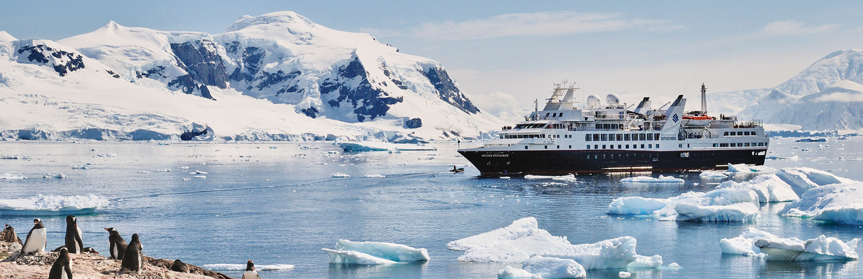 All-Inclusive Antarctica Experience with Silversea Cruises 0