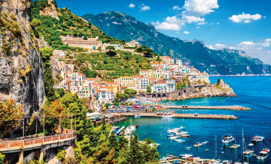 Sicily, The Amalfi Coast & Rome