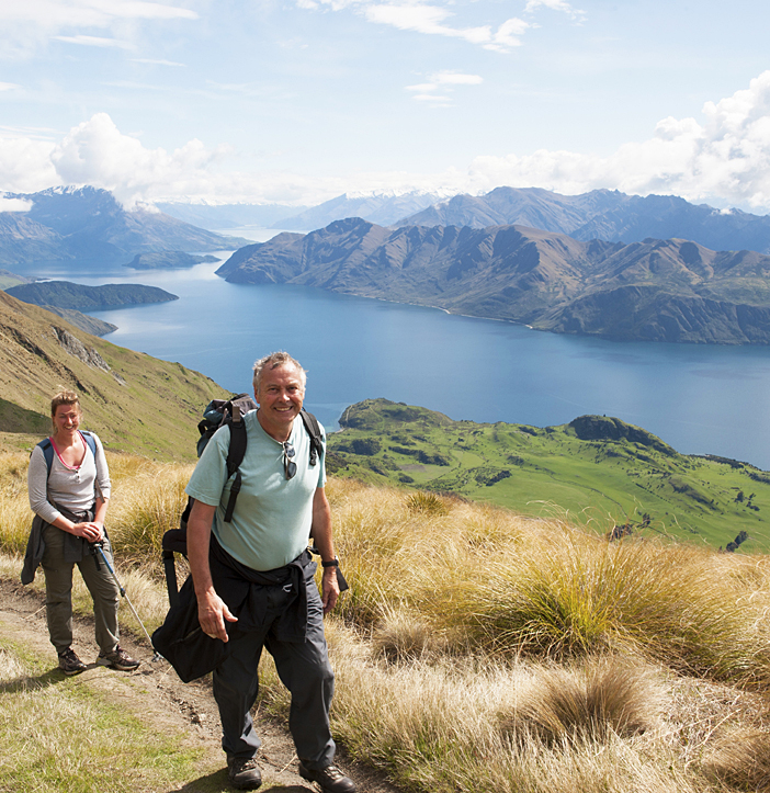 Walking in the South Island of New Zealand (Moderate)