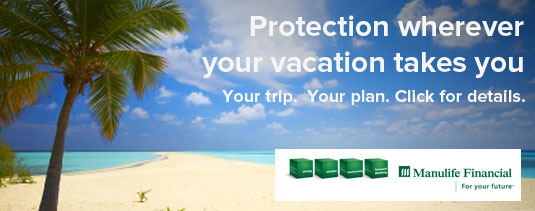 Get Manulife Travel Insurance Today