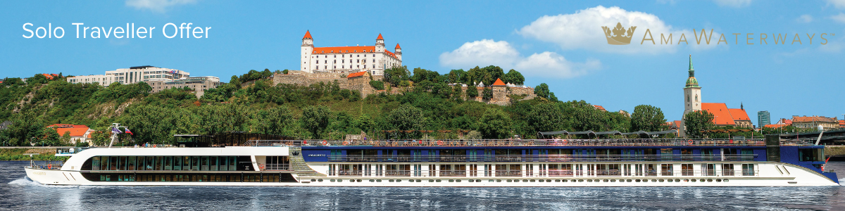 AmaWaterways Solo Traveller Offer