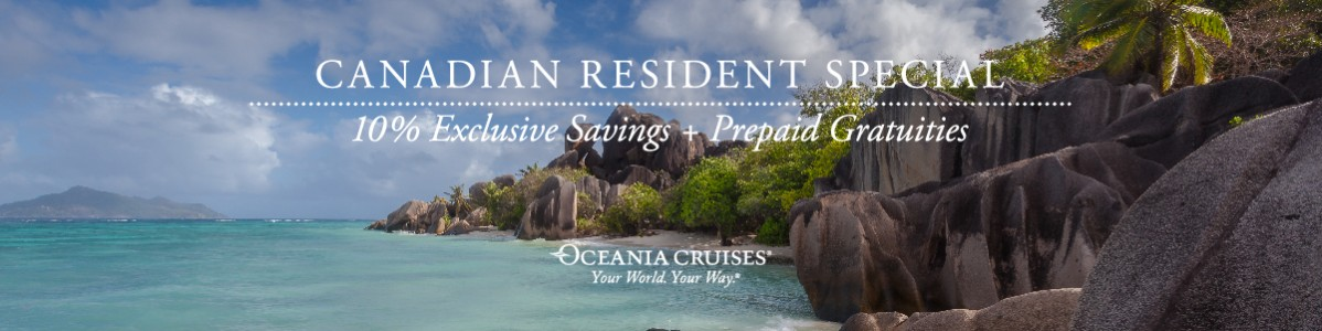 Oceania Cruises 2018 Winter Offer!