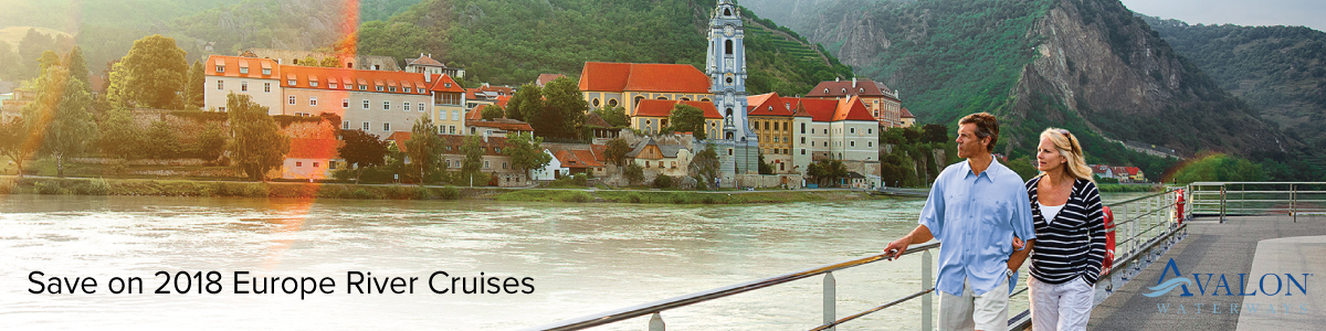 Save $3000 on Avalon Waterways