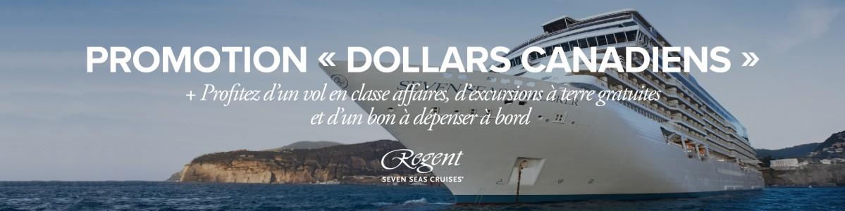 Offre spéciale de Regent Seven Seas Cruises