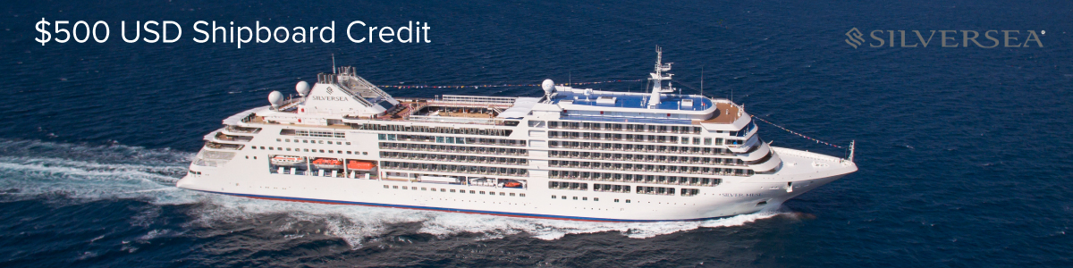 Exclusive Shipboard Credit with Silversea