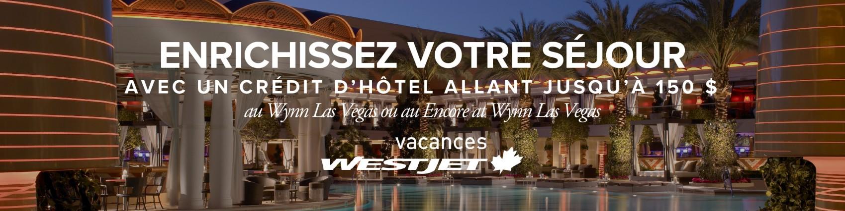 Économisez sur les vacances WestJet à Las Vegas