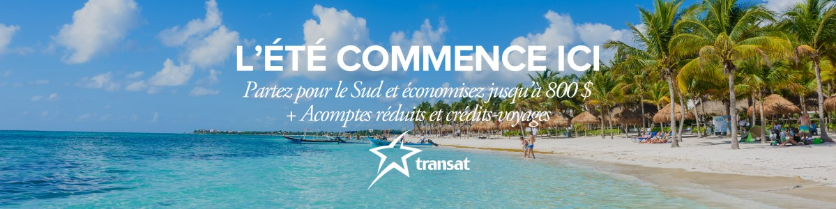 Promotion « L'été commence ici » de Transat