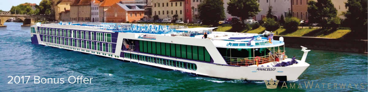2017 Bonus Offer with AmaWaterways