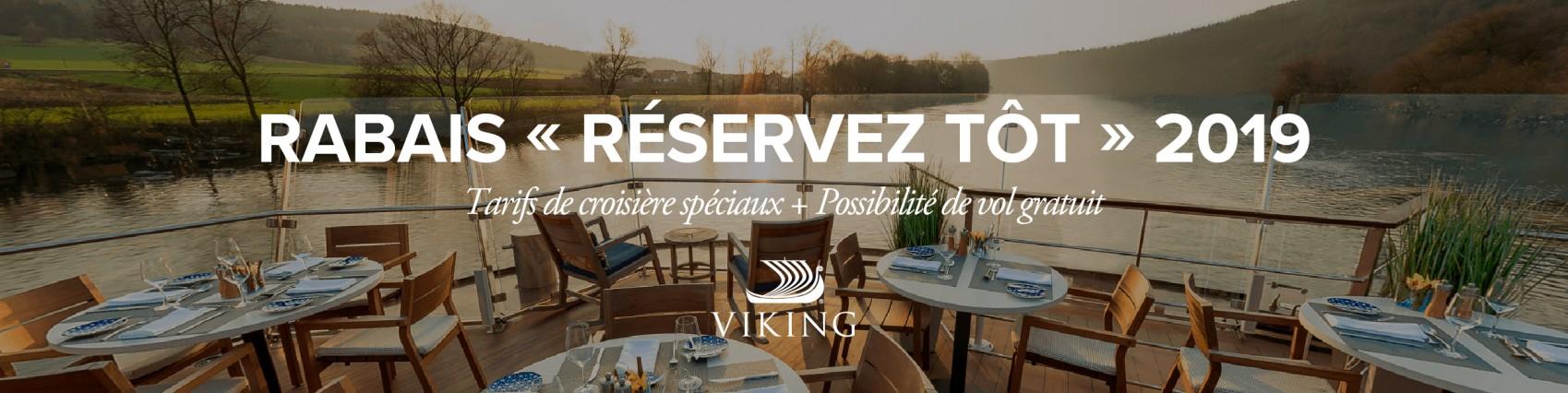 Réservez tôt et économisez avec Viking River Cruises