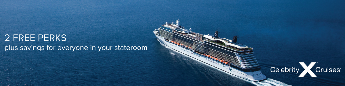 Celebrity Cruises The World is Open Sale