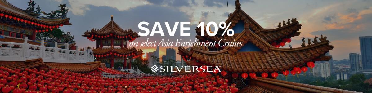 Silversea Early Booking Bonus on Far East Cruises