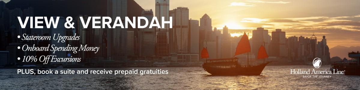 Holland America Upgrade Savings Event