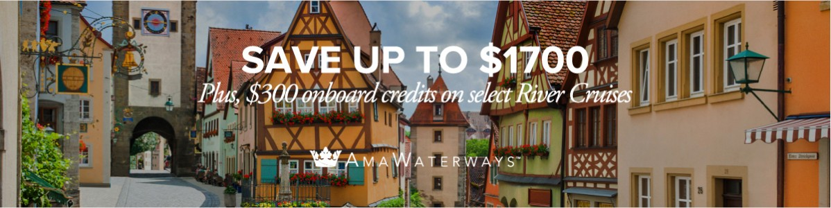 AmaWaterways River Cruise Special
