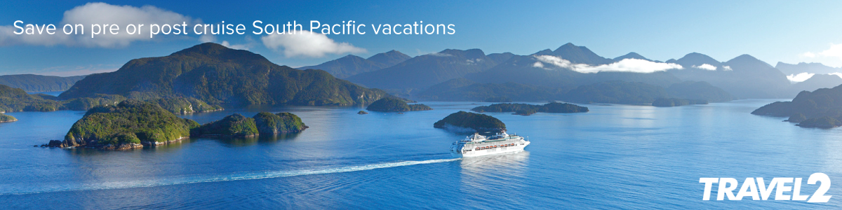 Save on South Pacific Vacations with Travel2