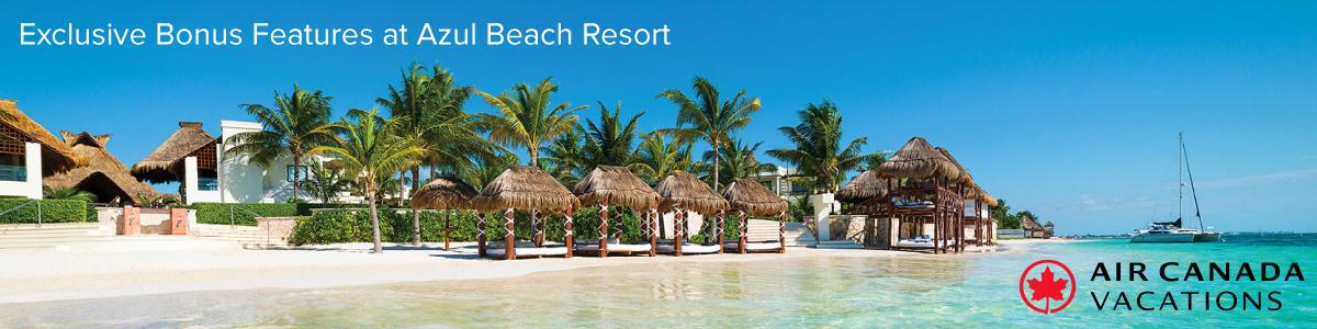 Exclusive Bonus at Azul Beach Resort