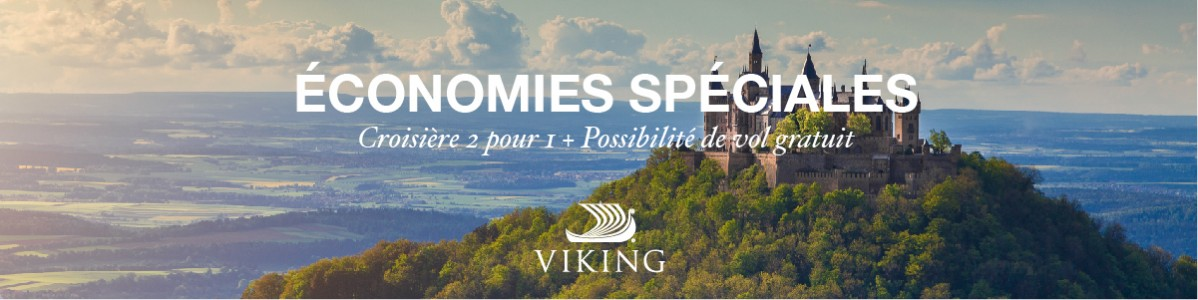 Explorez le monde avec Viking Cruises