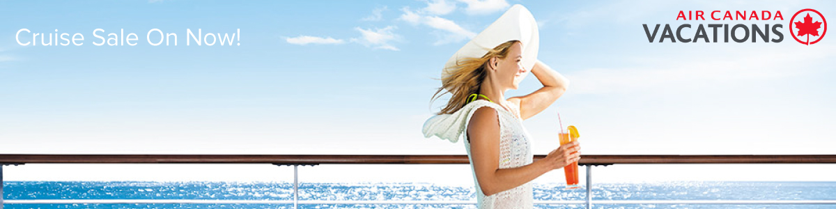 Air Canada Vacations Cruise Sale