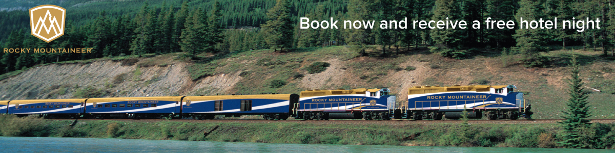 Free Hotel Night with Rocky Mountaineer