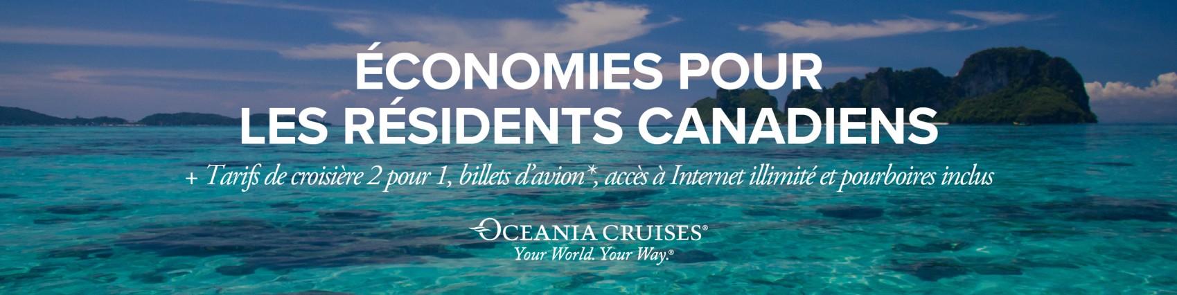 Votre monde à votre manière avec Oceania Cruises