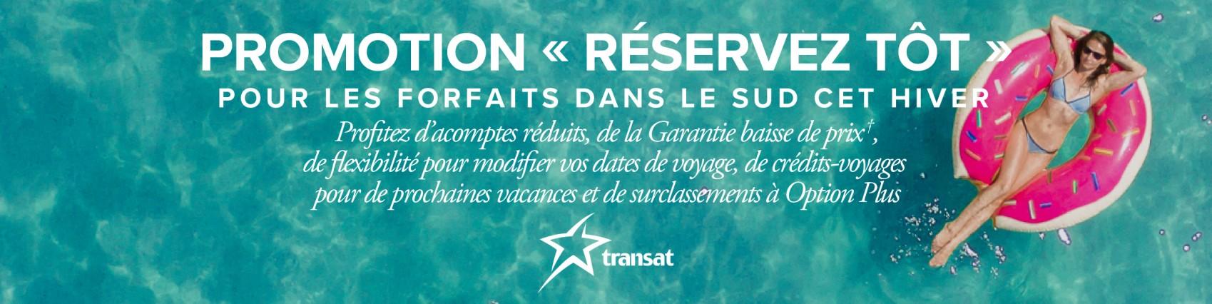 L'hiver prochain, passez des vacances en famille dans le Sud et économisez avec Transat