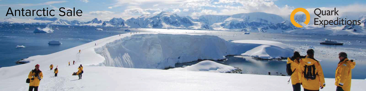 Quark Expeditions Antarctic Sale