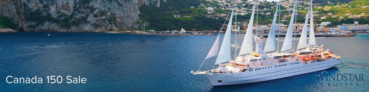 Windstar Cruises Canada 150 Sale