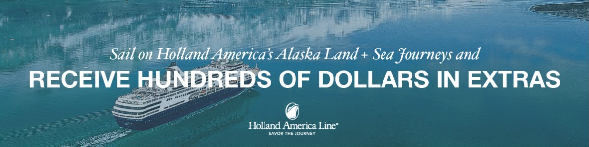 Get more with Holland America