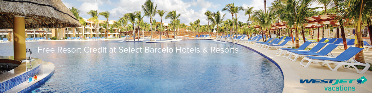 Free Resort Credit at Select Barcelo Hotels & Resorts