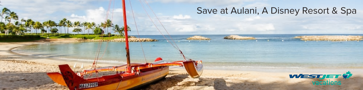 Hawaii Savings with WestJet Vacations