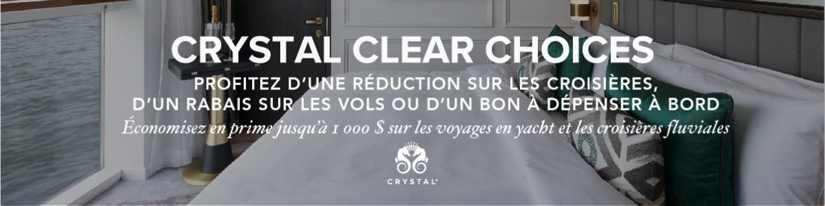 Le choix est clair avec Crystal Clear Choices